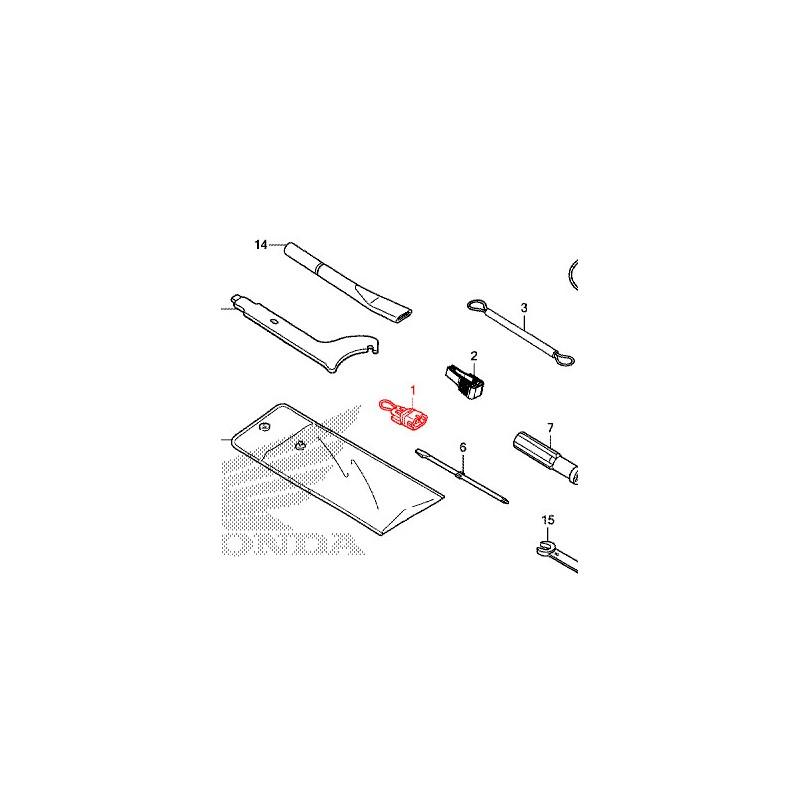 35102-KVZ-630 : Prise démarrage de secours Honda X-ADV 750