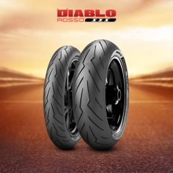 2635200 : Pirelli Diablo Rosso 3 120/70ZR17 58W TL X-ADV