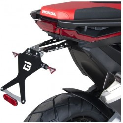 HX7104 : Support de plaque Barracuda Honda X-ADV 750