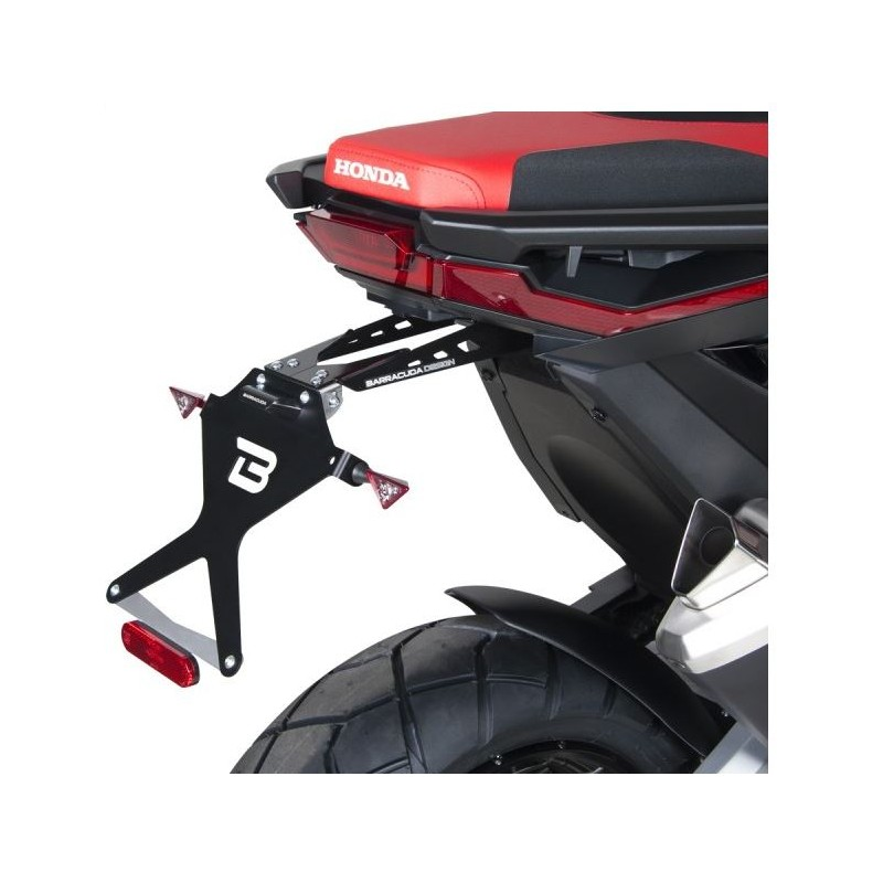 HX7104 : Barracuda license plate holder Honda X-ADV 750