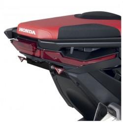 HX7104-17-SN + N1002 : Staffa per targhe deportato Barracuda Honda X-ADV 750