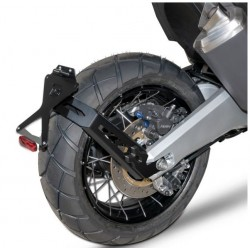 HX7104-17-SN + N1002 : Support de plaque déporté Barracuda Honda X-ADV 750