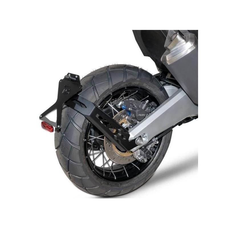 HX7104-17-SN + N1002 : Barracuda remote license plate holder Honda X-ADV 750