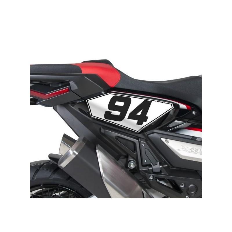 HX7400 : Supporto numero Racing Barracuda Honda X-ADV 750