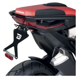 HX7104-17-R : Supporto dei targhe Barracuda Racing Honda X-ADV 750