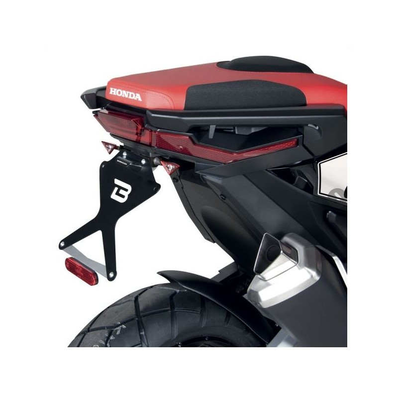 HX7104-17-R : Supporto dei targhe Barracuda Racing Honda X-ADV 750