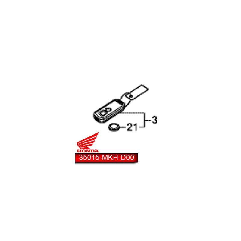 35015-MKH-D03 : X-ADV double key Honda X-ADV 750