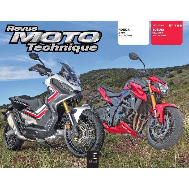 RMT 188 : Revue technique X-ADV Honda X-ADV 750