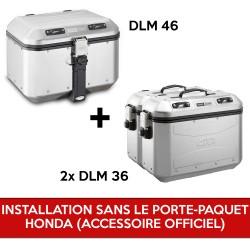 gividolomitipack2 : Pack Givi Dolomiti pour X-ADV SANS porte-paquet d'origine Honda X-ADV 750