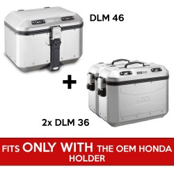 gividolomitipack : Givi Dolomiti complete pack for X-ADV WITH OEM holder Honda X-ADV 750