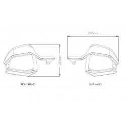 3621 : Puig handguard extensions Honda X-ADV 750