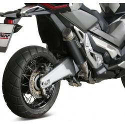 H.066.LXBP - 76021690 : Silencieux Mivv GP Pro Inox noir Honda X-ADV 750