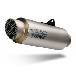 H.066.L6P : Mivv GP Pro titanium exhaust Honda X-ADV 750