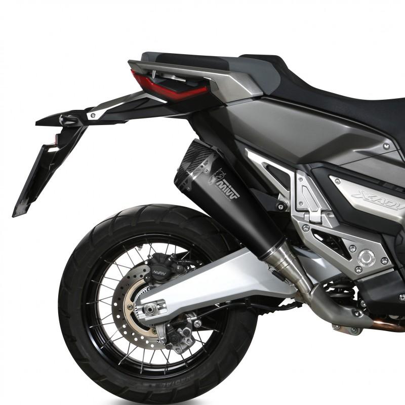 H.066.LDRB - 76021688 : Scarico Mivv Delta Race Nero Honda X-ADV 750