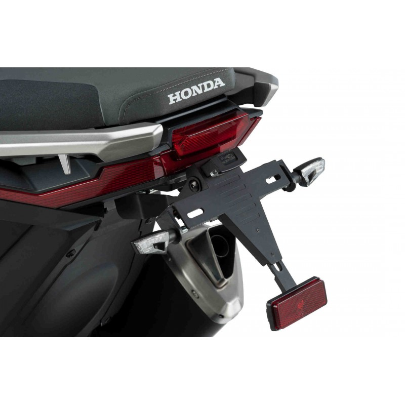9706N : Support de plaque Puig Honda X-ADV 750