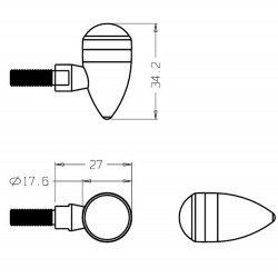 9314N : Indicatori Tiny Puig Honda X-ADV 750