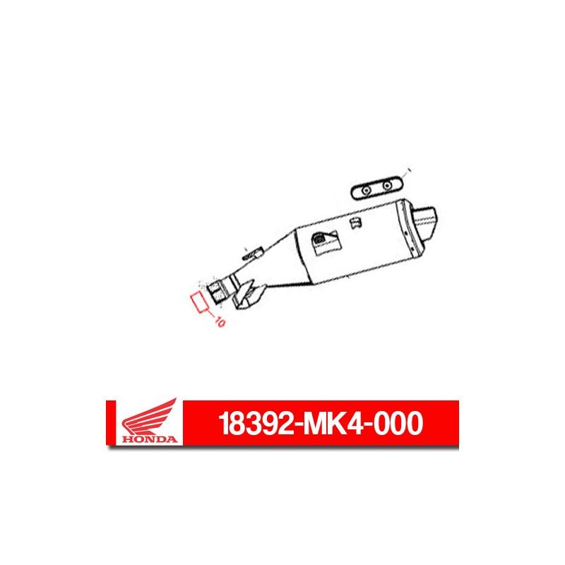 18392-MK4-000 : Honda exhaust gasket Honda X-ADV 750