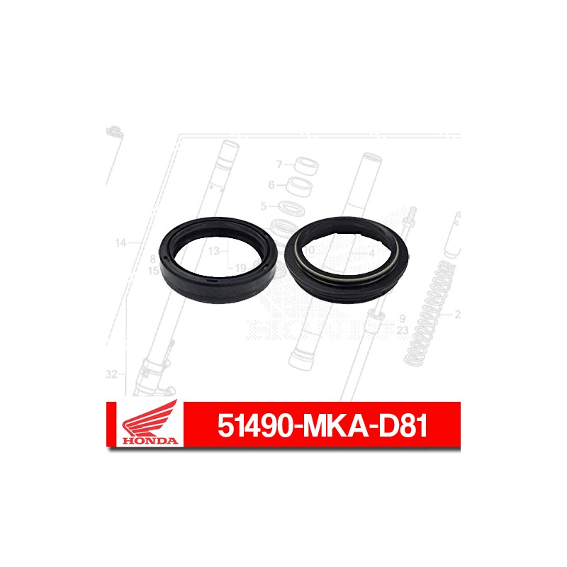 51490-MKA-D81 : Joint spi Honda Honda X-ADV 750