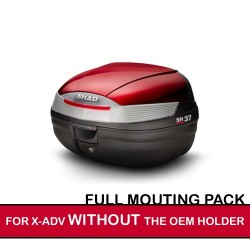 packsh37rouge : Shad SH37 pack for X-ADV WITHOUT OEM holder X-ADV