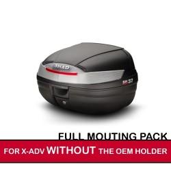 packsh37raw : Pack Shad SH37 pour X-ADV SANS porte-paquet d'origine X-ADV