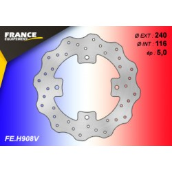 FE.H908V : Rear brake disc France Equipement Honda X-ADV 750
