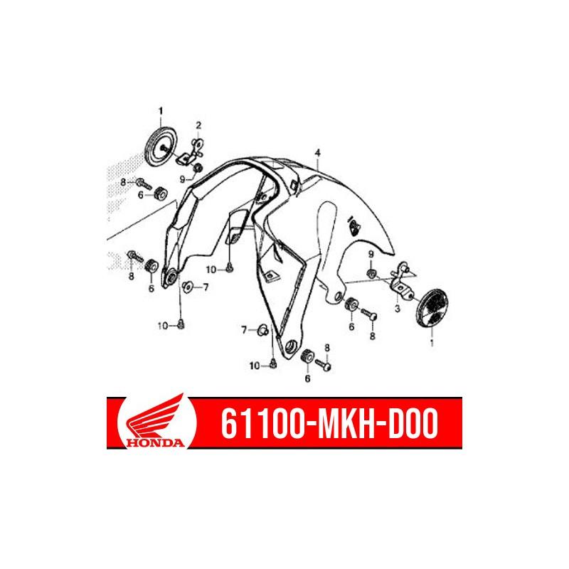 61100-MKH-D00 : Genuine front fender inner part Honda X-ADV 750