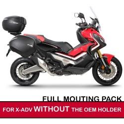 shadfullpack : Confezione bauletto e valigie Shad per X-ADV SENZA confezione originale Honda X-ADV 750