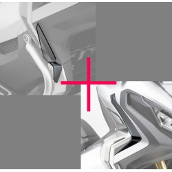 08ESY-MKH-DFL17 : Honda Wind Deflector Pack Honda X-ADV 750