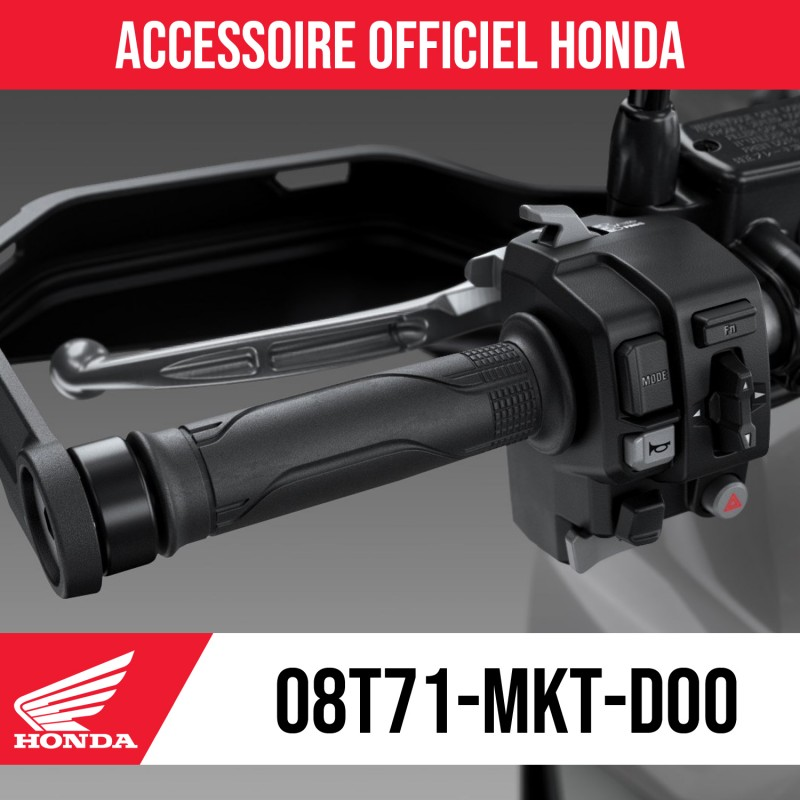 08T71-MKT-D00 + 08CRD-HGC-23GHO : Poignées chauffantes Honda 2021 Honda X-ADV 750