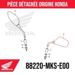 88220-MKS-E00 : Honda OEM left mirror 2021 Honda X-ADV 750