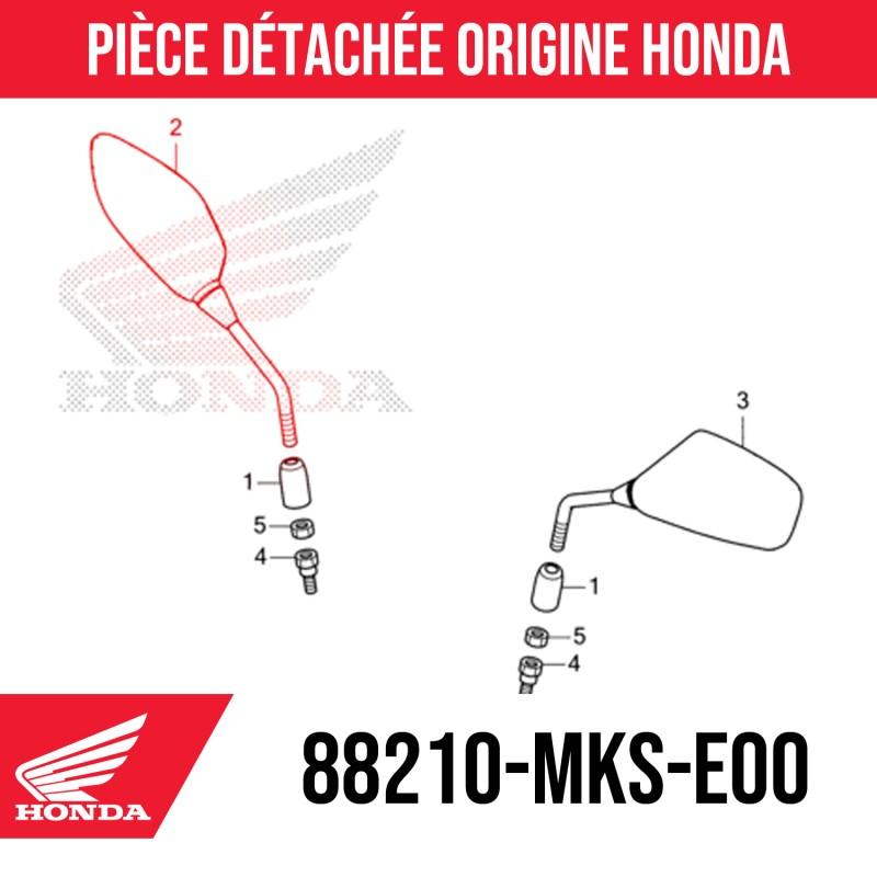 88210-MKS-E00 : Honda OEM right mirror 2021 Honda X-ADV 750