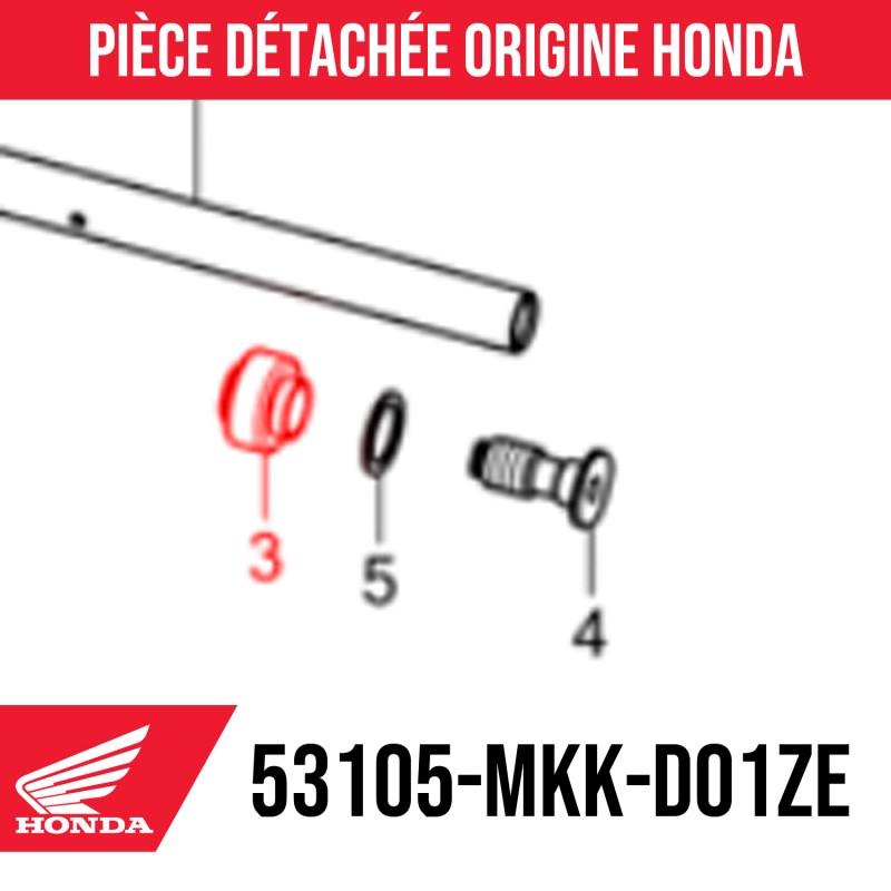 53105-MKK-D01ZE : Honda OEM handlebar end cap 2021 Honda X-ADV 750