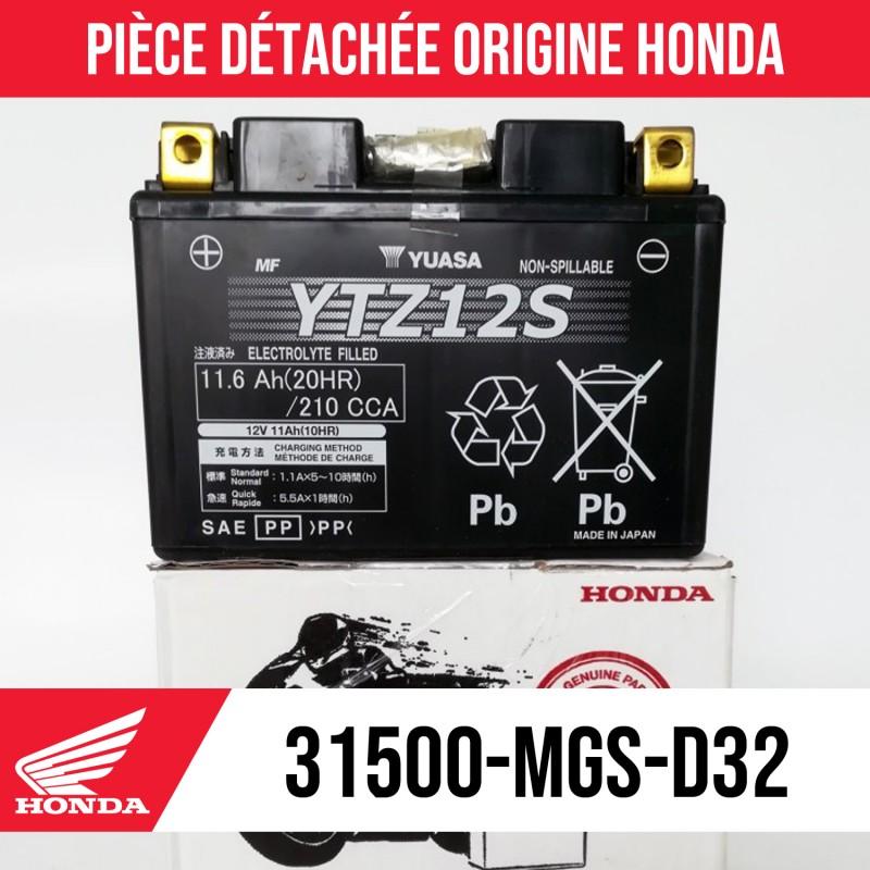 31500-MGS-D32 : Honda YTZ12S OEM Battery Honda X-ADV 750