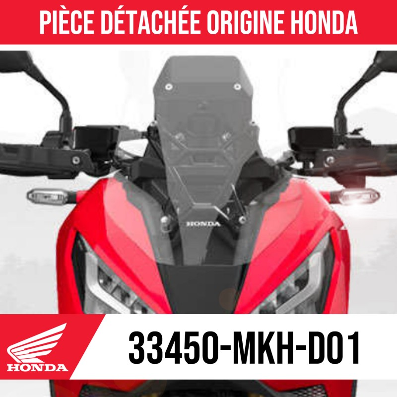 33450-MKT-D01 : Clignotant origine Honda 2021 Honda X-ADV 750