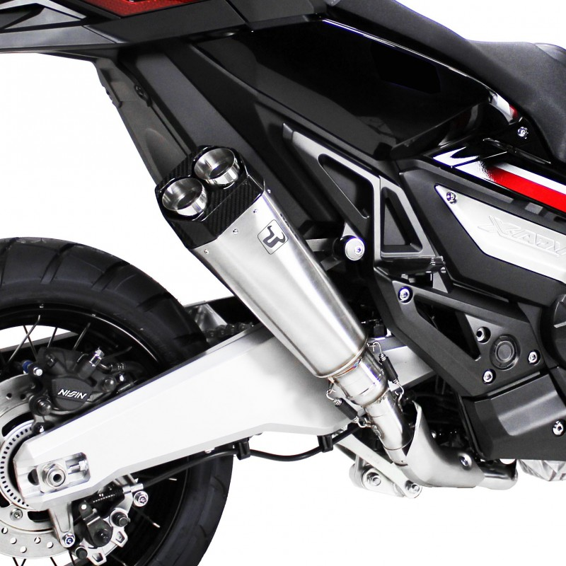 WH 6659 : Ixrace Stainless Steel M9 Slip-On Exhaust Honda X-ADV 750