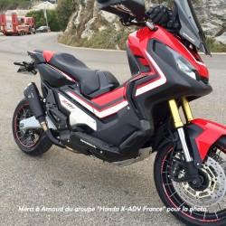 WH 6659 B : Marmitta Ixrace M9 Black Edition Honda X-ADV 750