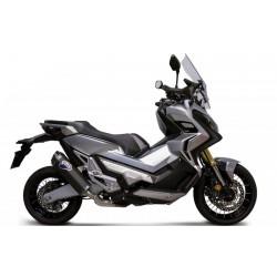 H14208040INC-X : Scarico Termignoni Black edition Honda X-ADV 750