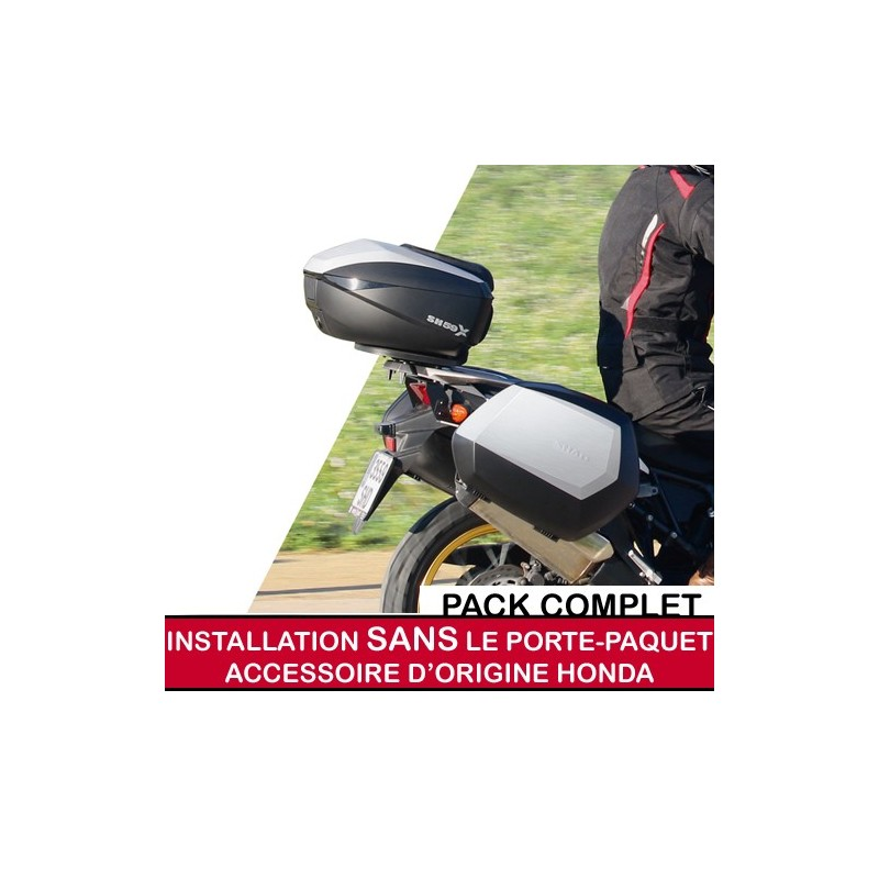 shadfullpack21-4 : Shad premium top/side cases full pack for 2021 X-ADV WITHOUT OEM holder Honda X-ADV 750