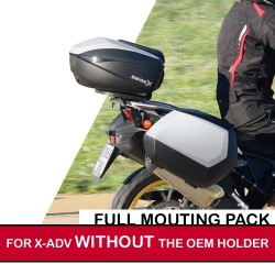 shadfullpack21-4 : Pack premium top case/valises Shad pour X-ADV 2021 SANS porte-paquet d'origine Honda X-ADV 750