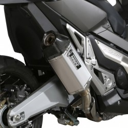 H.066.LRX : Mivv Speed Edge Slip-On exhaust Honda X-ADV 750