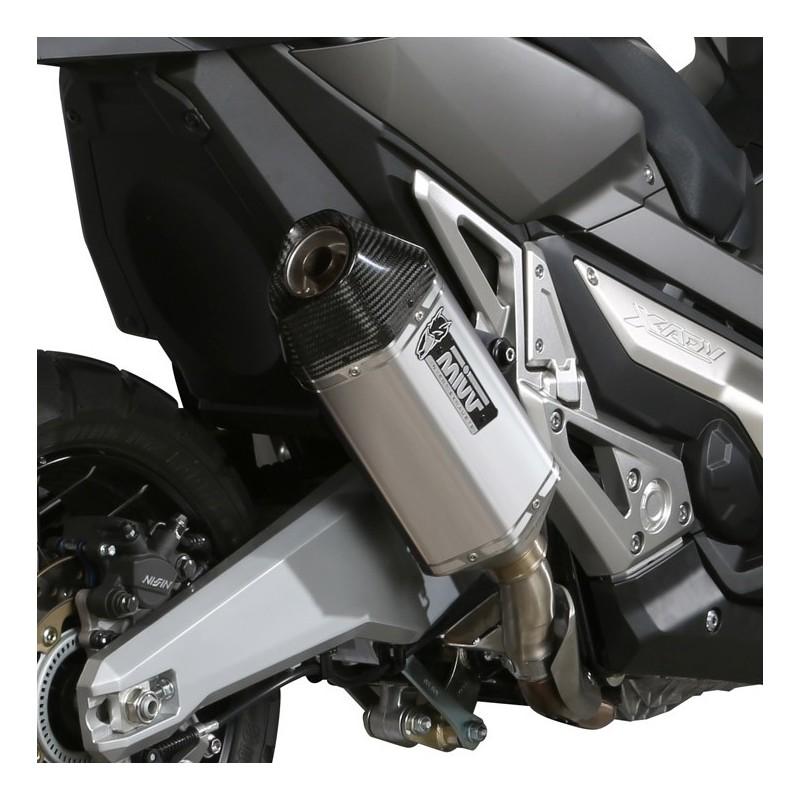 H.066.LRX : Mivv Speed Edge Slip-On exhaust Honda X-ADV 750