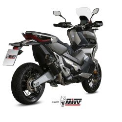 H.066.LRB : Silencieux Mivv Speed Edge Black Honda X-ADV 750