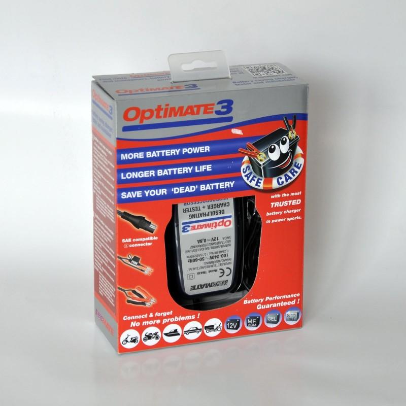 110126699901 : Chargeur de Batterie Optimate 3 X-ADV