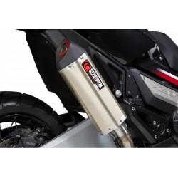 RHA178TEO : Scorpion Serket titanium slip-on Honda X-ADV 750