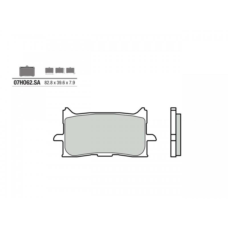 07HO62 SA : Brembo Front Brake Pads X-ADV