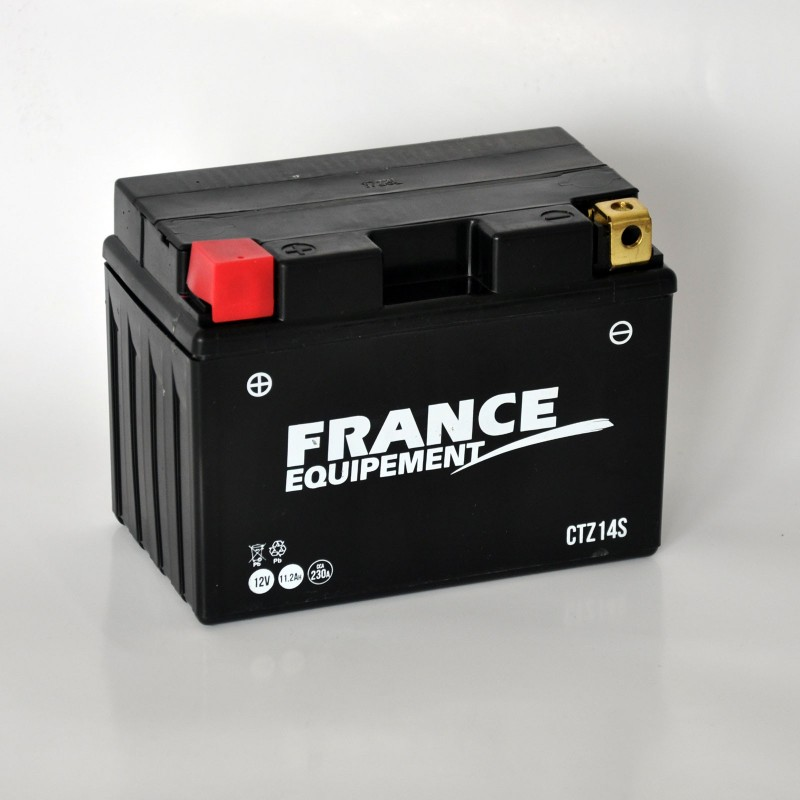 CTZ14S : France Equipement YTZ14S Battery X-ADV