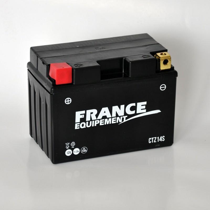 CTZ14S : France Equipement YTZ14S Battery Honda X-ADV 750