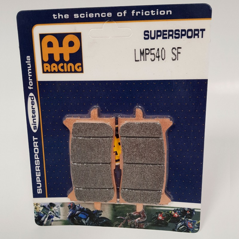 LMP540SF : Plaquettes de freins avant AP Racing X-ADV