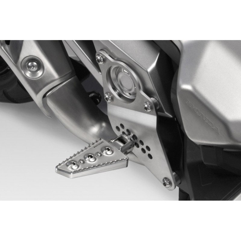 R-0827 : DPM Stainless Steel Rider Foot Pegs Kit Honda X-ADV 750