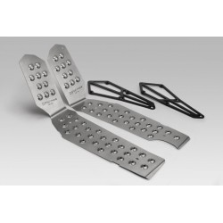 R-0824 : DPM Stainless Steel Footrest Kit X-ADV